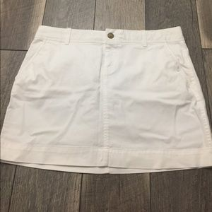 Old Navy Perfect Mini Skirt White Sz 6